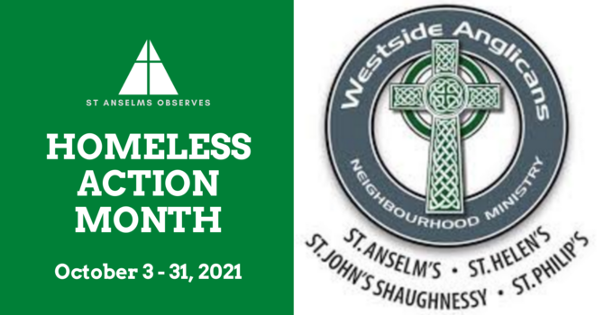Homeless Action Month: October 3-31