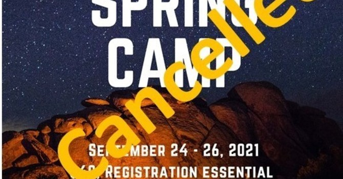 Spring Camp Cancelled
