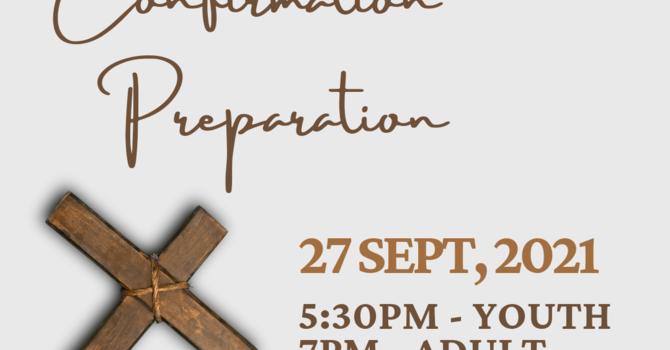 Confirmation Preparation: Information Session