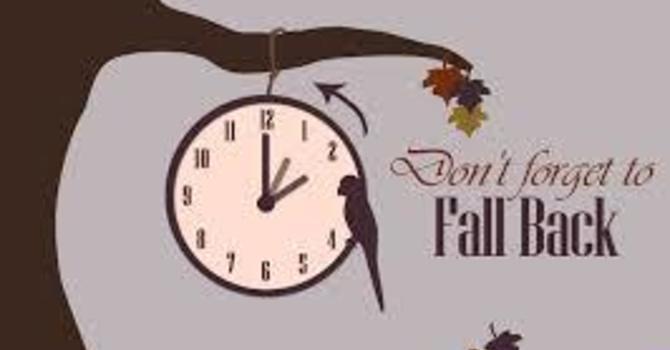 Time change - 1 hour back