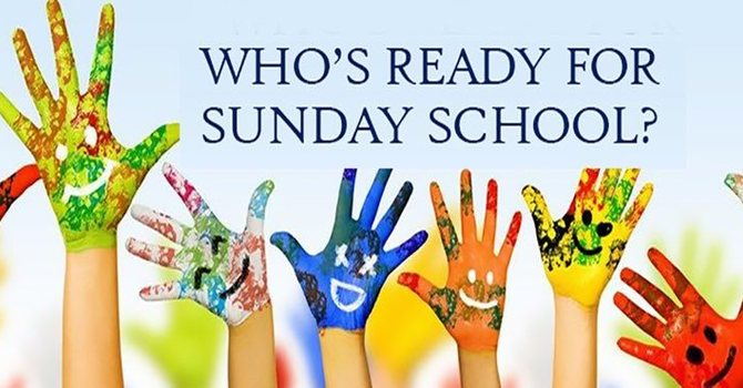 Who's Ready For Sunday School!!!