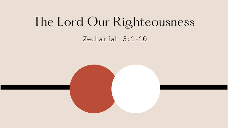 Clothed in Righteousness