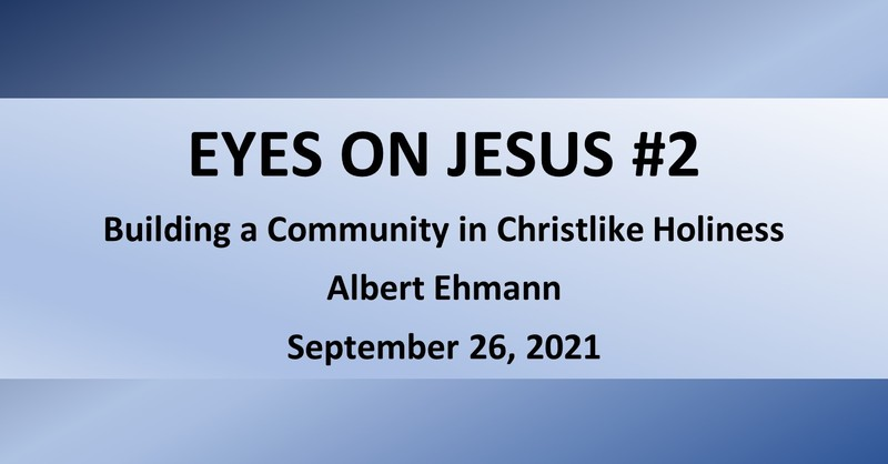 Eyes on Jesus #2