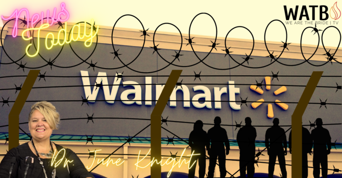 NEWS TODAY w/Dr. June Knight - Walmart, VOLCANOS, Education, Cyber Attacks Have Begun! & More image