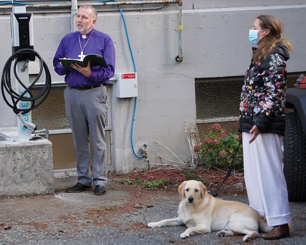 Blessing of the Charging Station