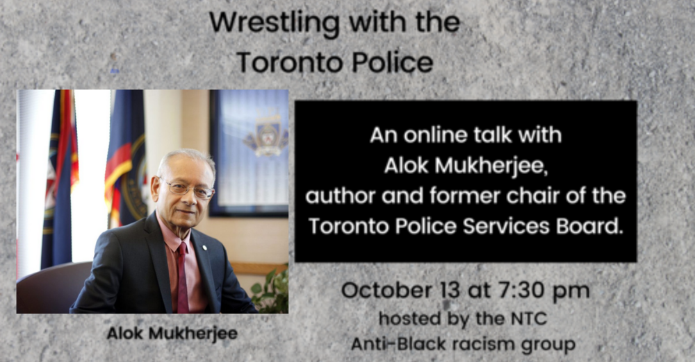 Wrestling with the Toronto Police