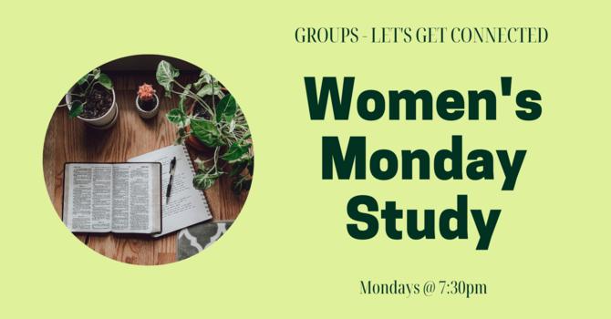 GROUPS: Women's Monday Study