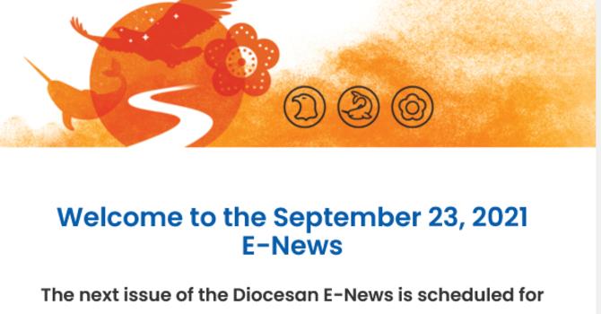 Link to the September 23 E-News