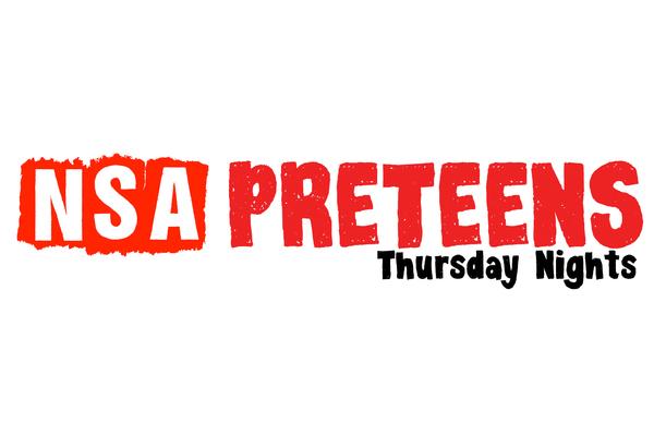 Preteen Thursday Night Kick-Off!