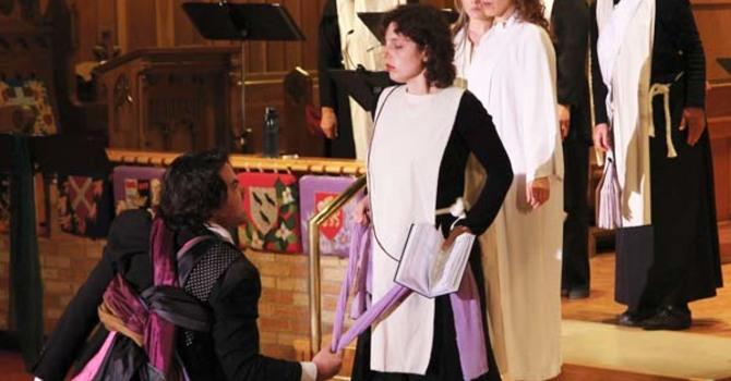Hildegard's Ordo virtutum at CCC, September 16th  image