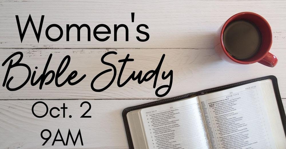 New Women's Bible Study Group