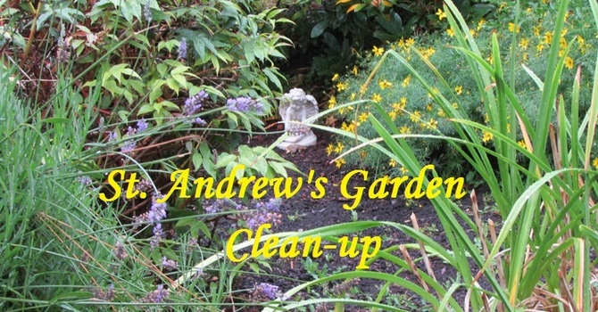 Friends of St. Andrew's Garden Cleanup