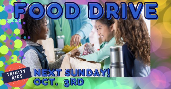 Trinity Kids' Food Drive