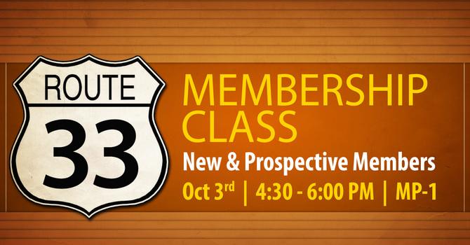Route 33 Membership Class