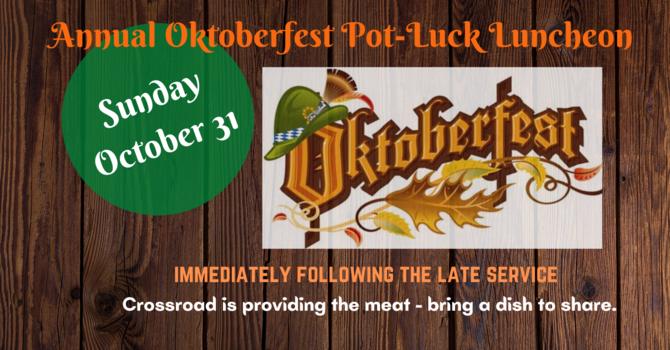 Oktoberfest Pot-Luck Luncheon