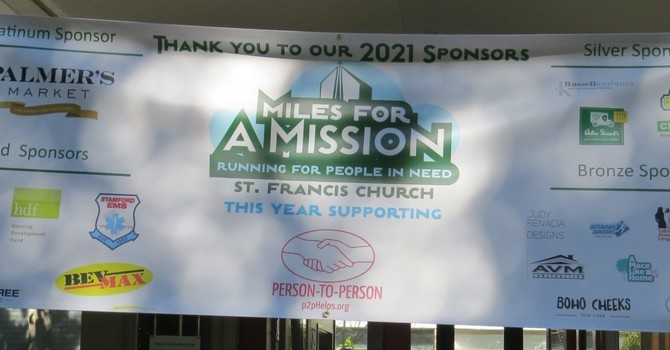 MILES FOR A MISSION BENEFITING PERSON-TO-PERSON image