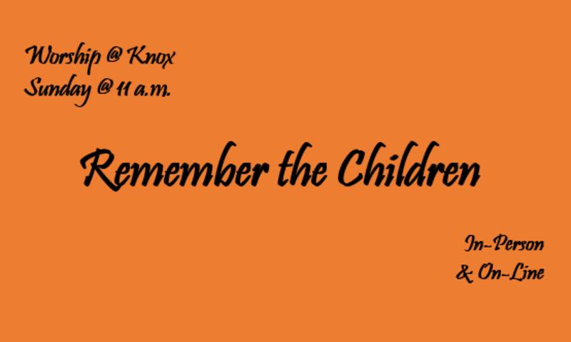Remember the Children