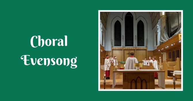 Choral Evensong - September 26, 2021 image