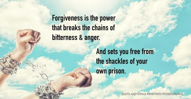"""""""Learning To Forgive"""" with Tony Crisp P.M. Revival Service"""