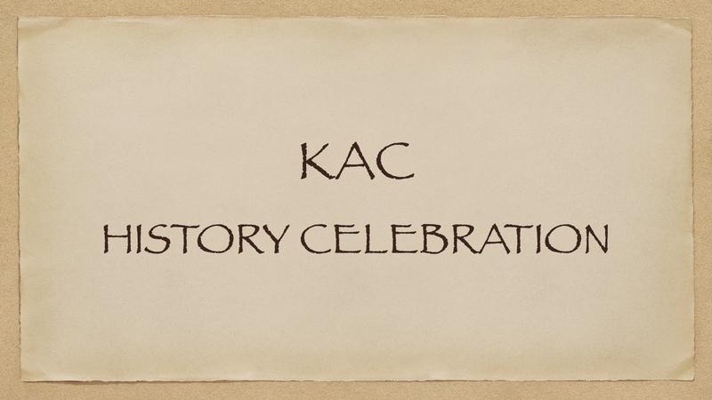 KAC History Celebration