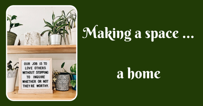 Making a Space a Home image