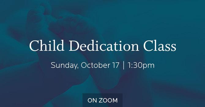 Tenth Kids- Child Dedication Class