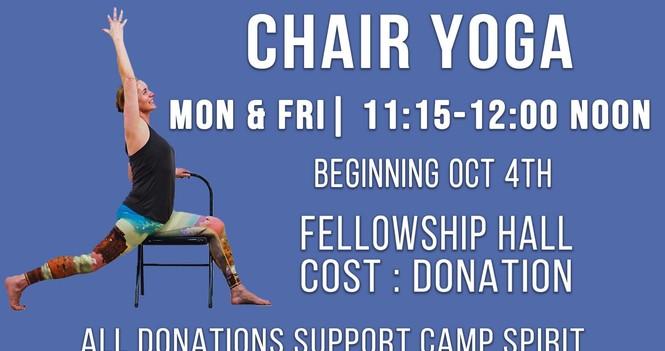 Chair Yoga!