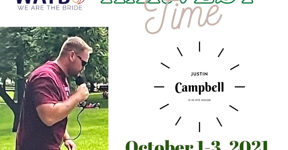 HARVEST TIME WEEKEND WITH JUSTIN CAMPBELL