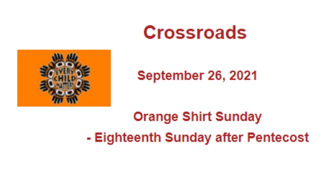 Crossroads September 26, 2021 image