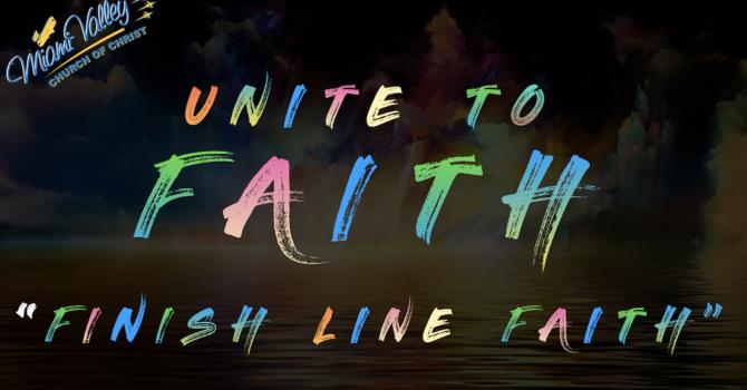 """""""Finish Line Faith"""""""
