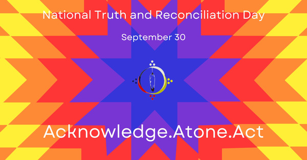 Synod Office Closed for Observance of National Truth and Reconciliation Day