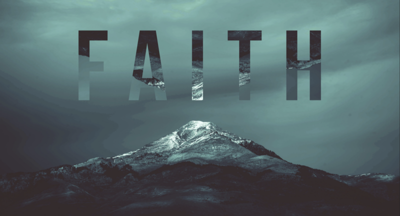 Because of Faith in God