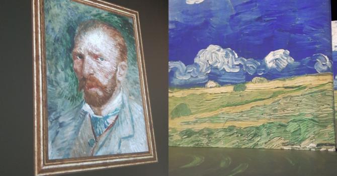 Van Gogh Interactive Exhibit image