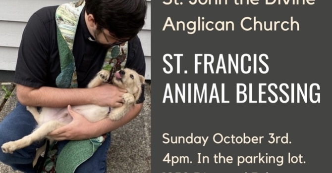St. Francis Animal Blessing image
