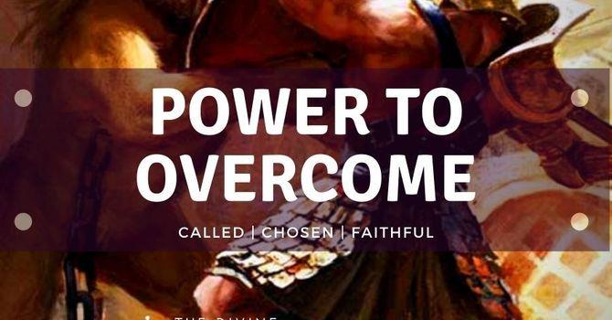 "Get the E-book ""POWER TO OVERCOME"""