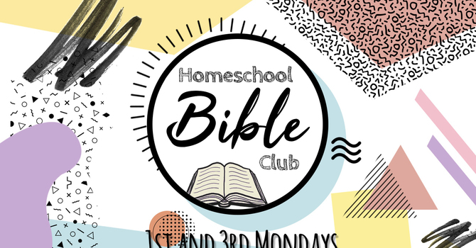 Homeschool Bible Club