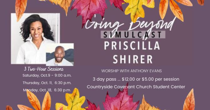 Simulcast with Priscilla Shirer