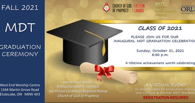 MDT Inaugural Graduation Ceremony