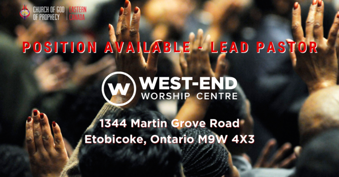 Position Available—Lead Pastor image