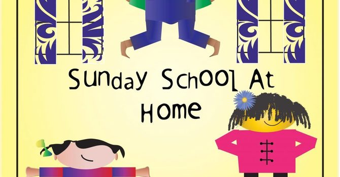 At Home Sunday School Commences Oct. 3, 2021 image
