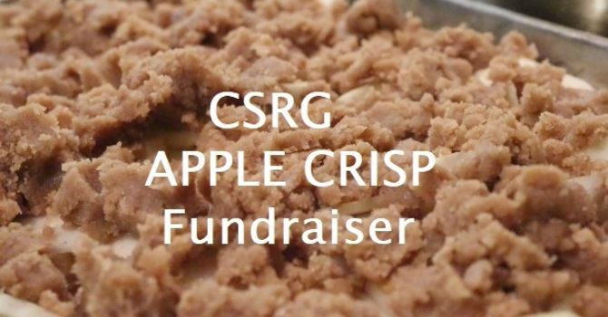 Church Street Refugee Group ( CSRG) Apple Crisp Sale image