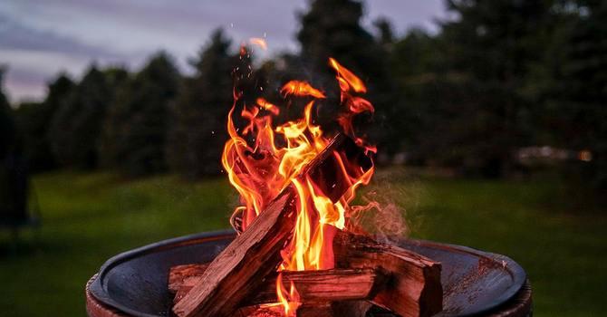 Campfire Hangout - Young Adults Kickoff