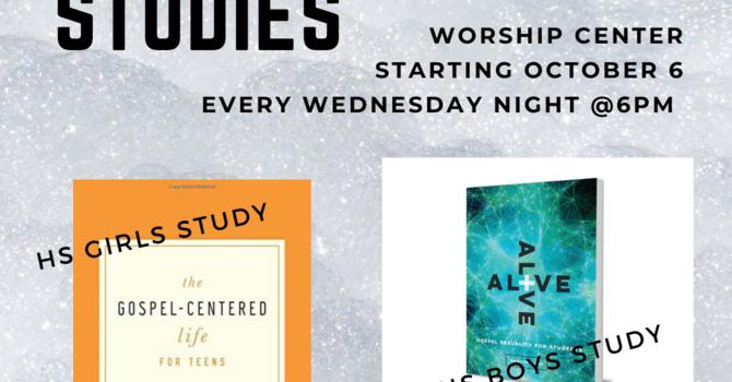 Highschool Youth Bible Studies