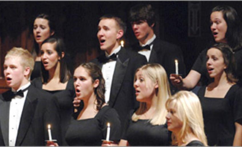 Whitworth University Choir concert (with EnChor)