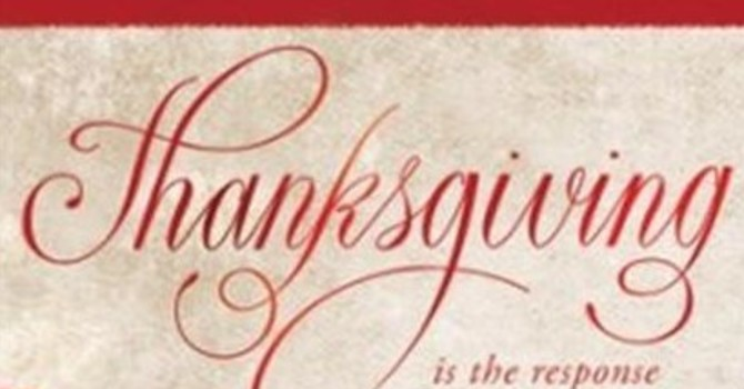 Bulletin: Harvest Thanksgiving - Trinity 18 image