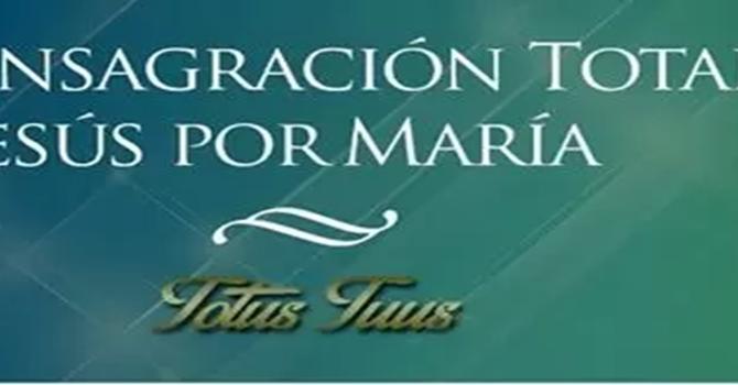 Consagración Mariana
