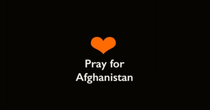 Praying for a Beacon of Hope Amidst Afghanistan's Darkness image