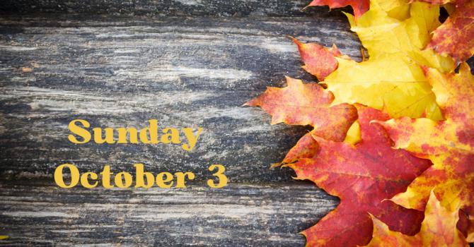 Sunday October 3rd