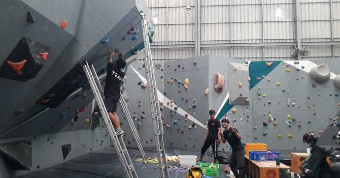 Climbing for Peace image