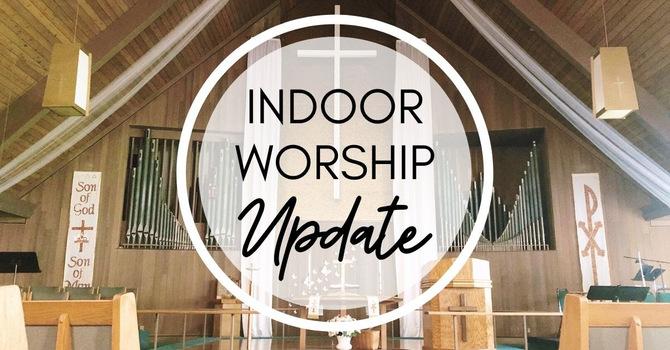 Indoor Worship begins October 17